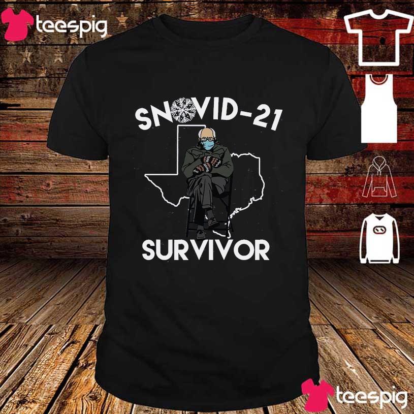 Bernie Sanders mittens Snovid-21 survivor shirt