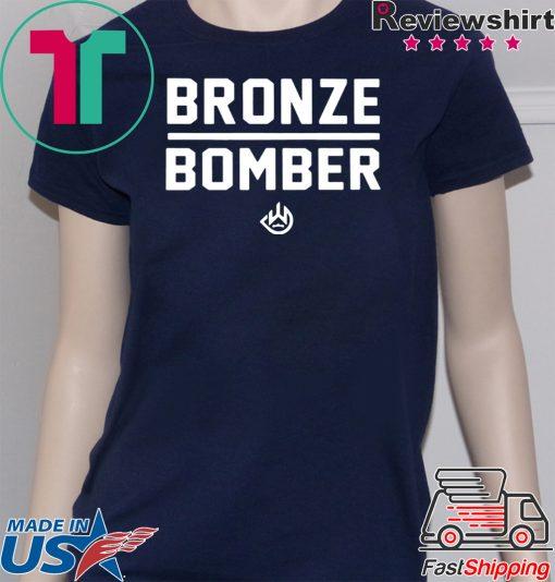Deontay Wilder Bronze Bomber Heavy Weight T-Shirt