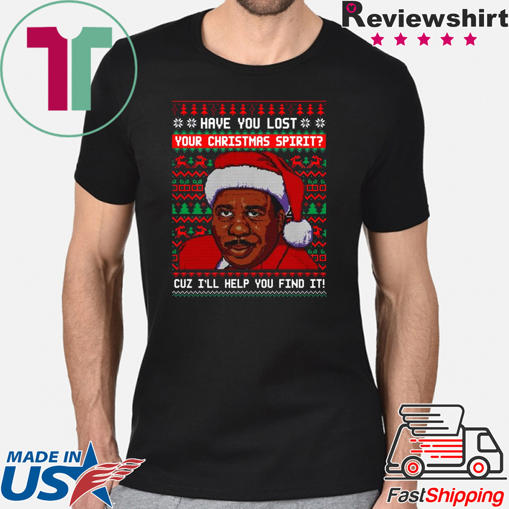 Have You Lost Your Christmas Spirit Steve Harvey Gift T Shirt