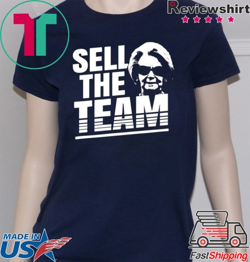 Martha Ford Sell The Team Tee Shirts