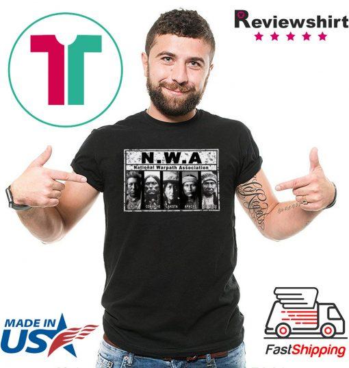 Native Warpath Association NWA T-Shirts