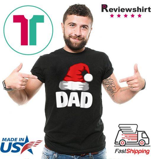 Premium Dad Christmas Santa Matching Family Pajamas Gift T-Shirt