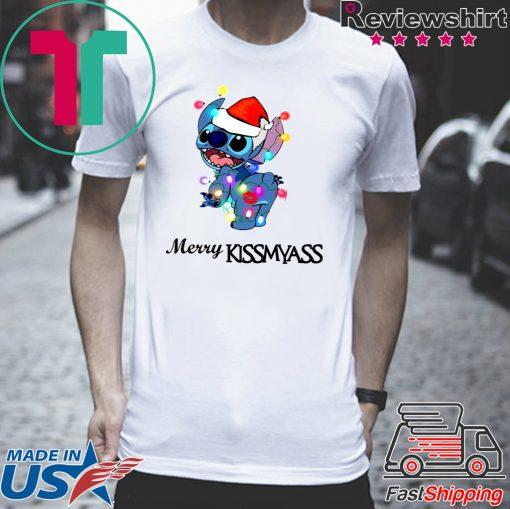 Stitch Merry Kiss my ass T-Shirts