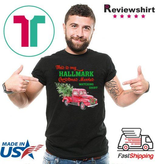 This is my hallmark christmas movie watching christmas 2020 T-Shirt