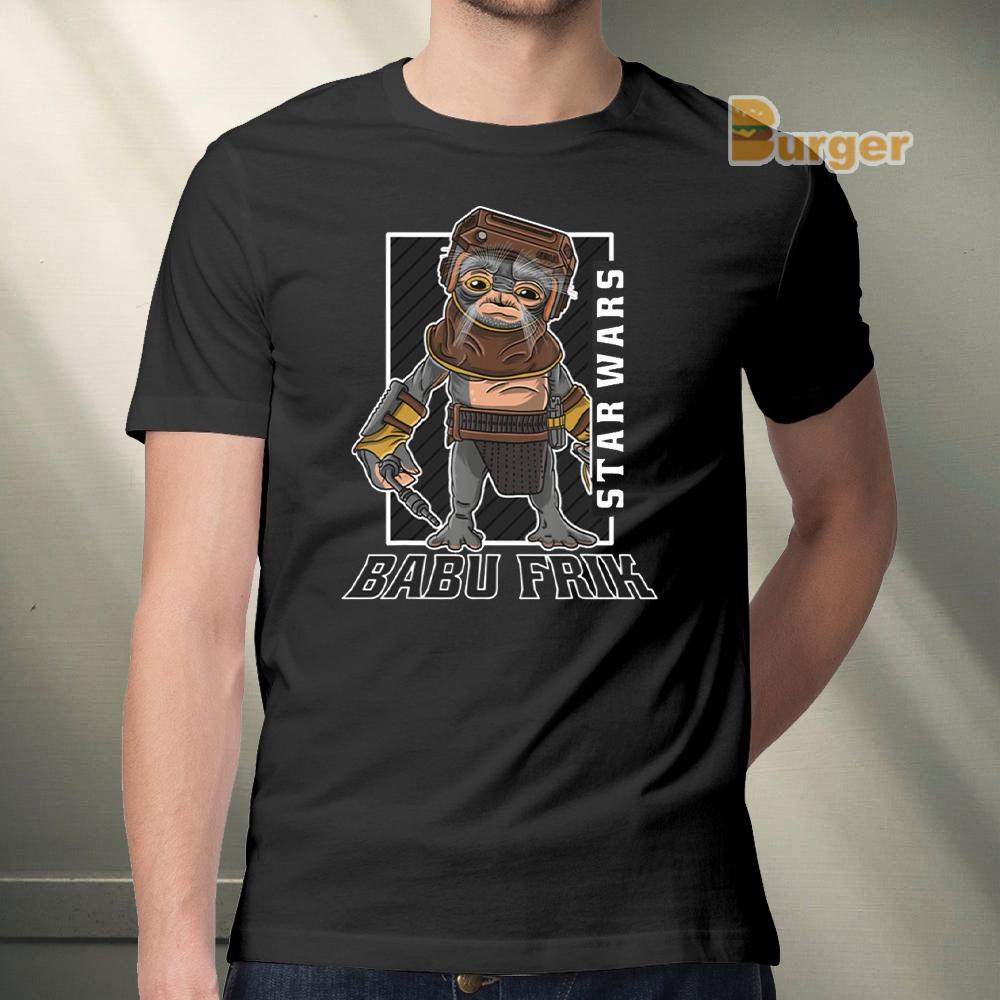 Star Wars Rise Of Skywalker Babu Frik Portrait Tee Shirt Hoodie Sweatshirt And Long Sleeve