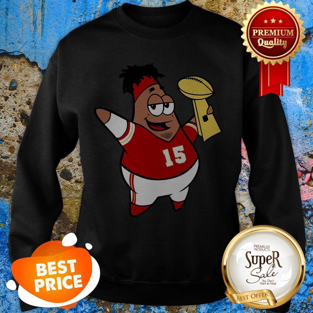 Patrick Star Mahomes Kansas City Chiefs Super Bowl Champions Sweatshirt