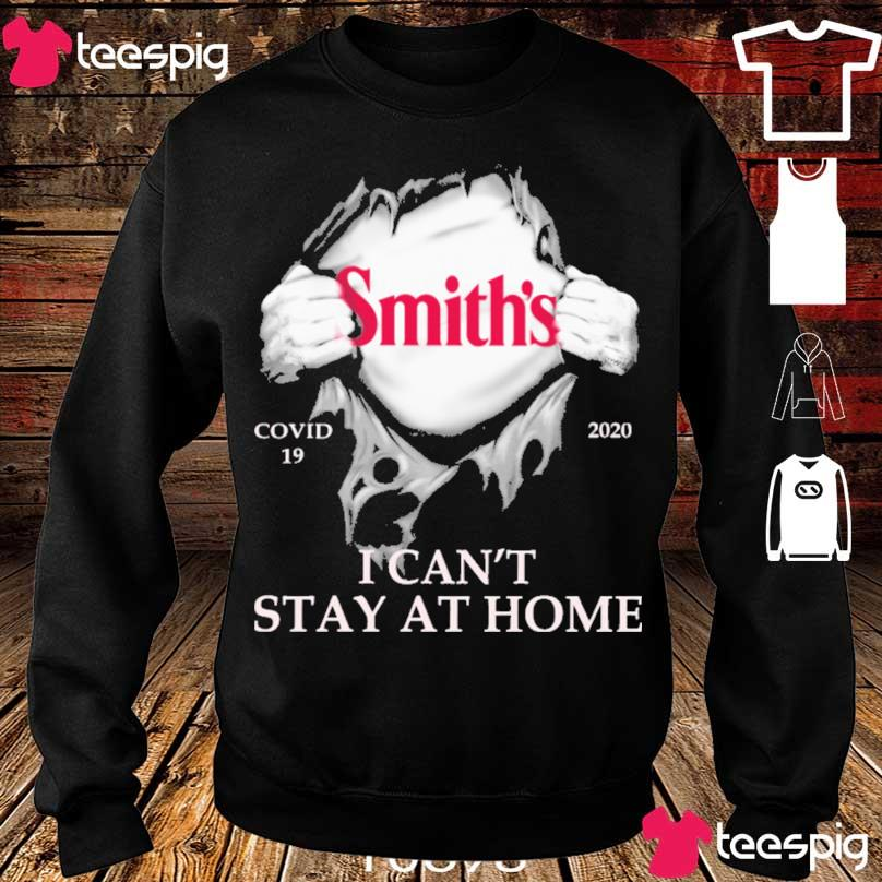 Blood inside me Smith's covid 19 2020 i can't stay at home s sweater