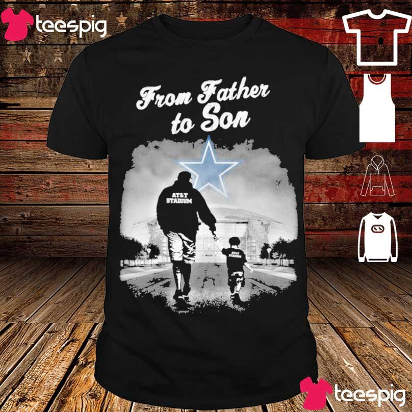 Dallas Cowboys from Father to Son shirt