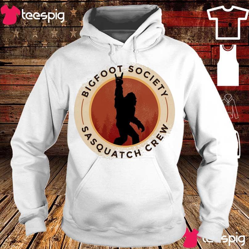 Bigfoot society Sasquatch crew s hoodie