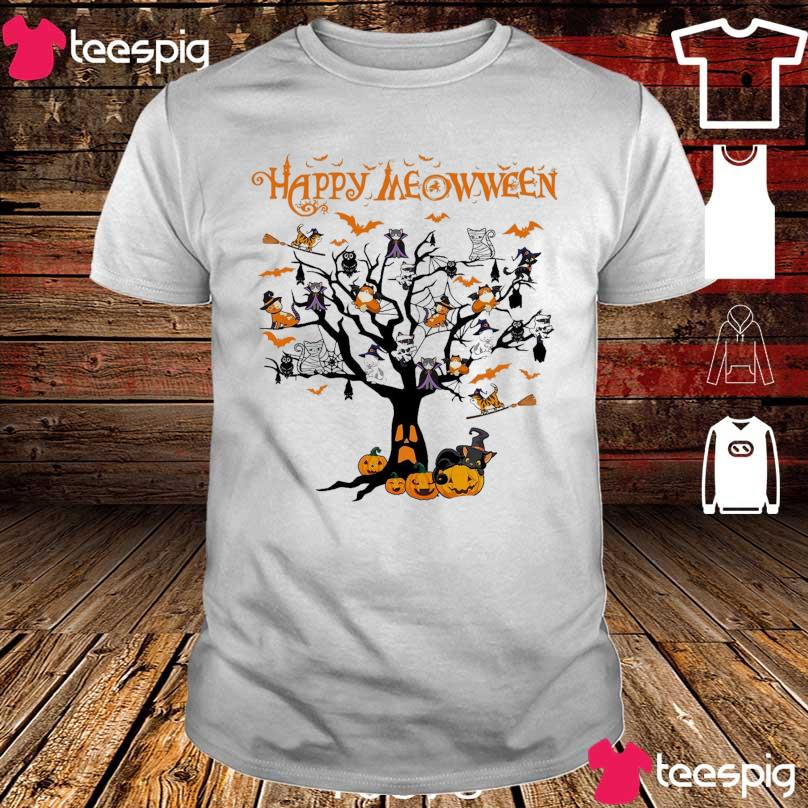 Cats Happy Meowween shirt
