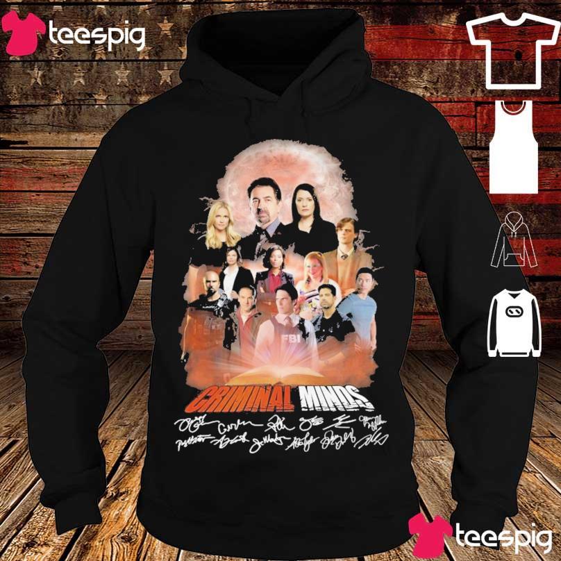 Criminal Minds signatures s hoodie