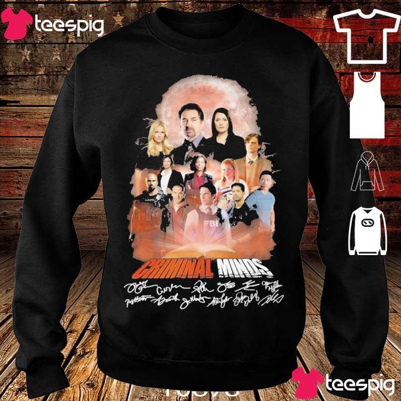 Criminal Minds signatures s sweater