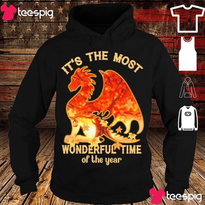 Dragon It's the most Wonderful time of the year s hoodie