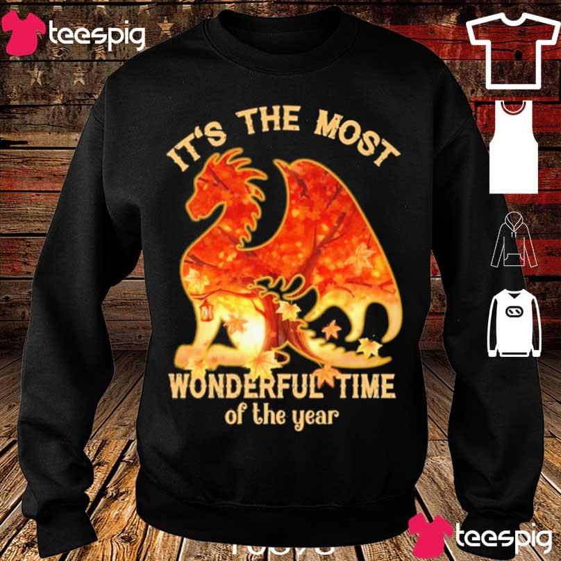 Dragon It's the most Wonderful time of the year s sweater