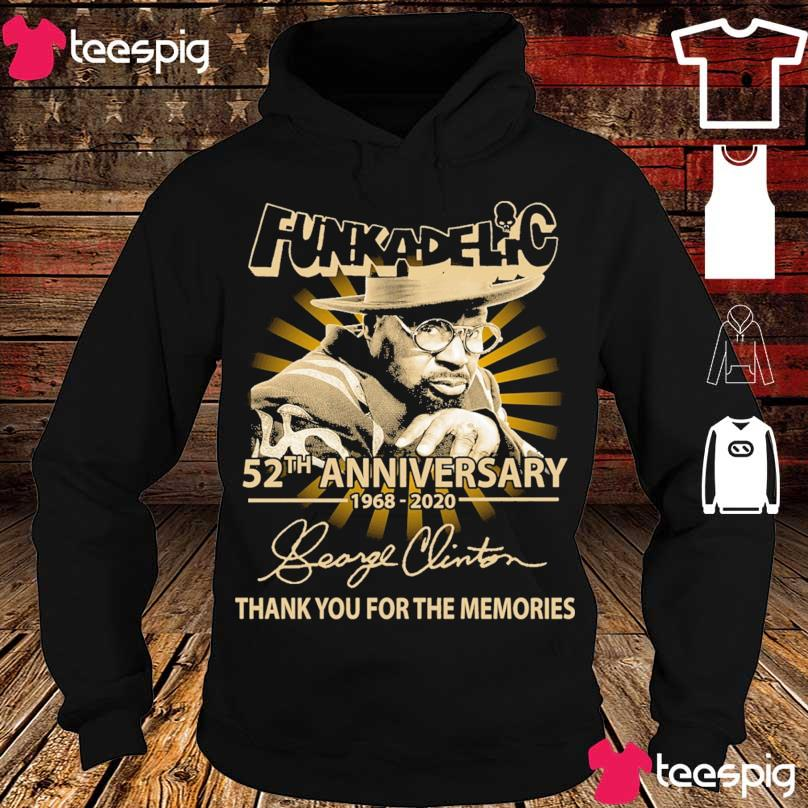Funkadelic 52TH Anniversary 1968 2020 signature s hoodie