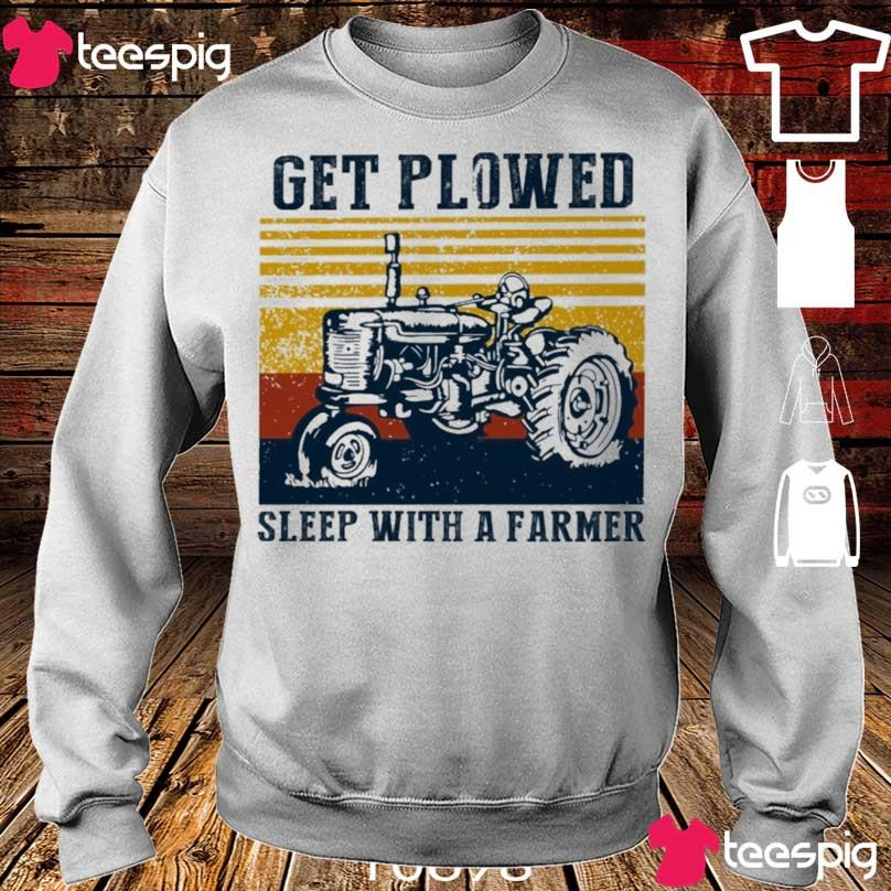 Get Plowed sleep with a farmer vintage s sweater