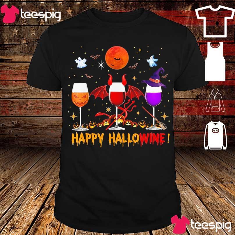 Happy Hallowine shirt