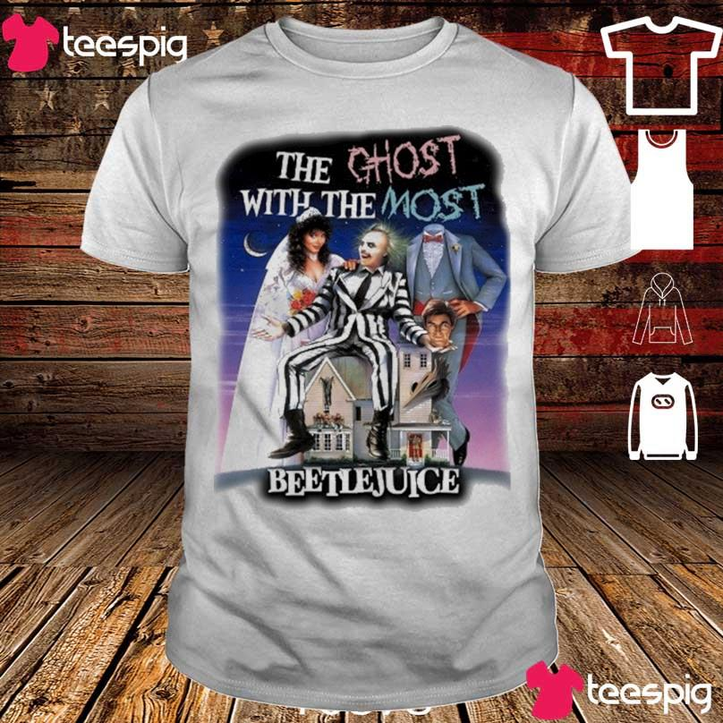 The Ghost with the most Beetlejuice shirt