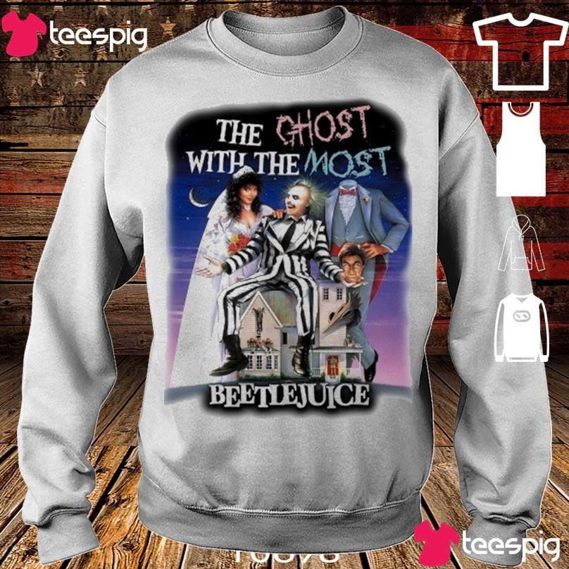 The Ghost with the most Beetlejuice s sweater