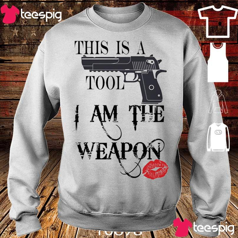 This is a Tool I am the Weapon s sweater
