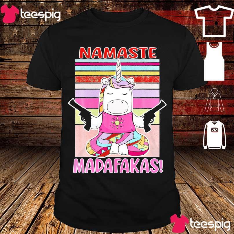 Unicorn namaste madafakas vintage shirt