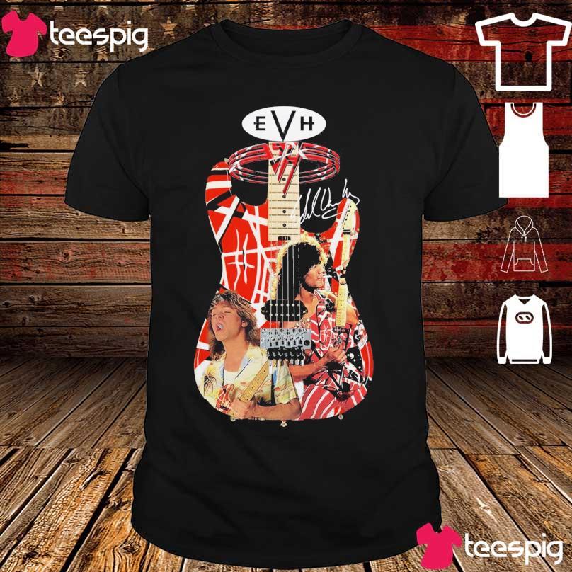 Guitar Eddie Van Halen signature shirt