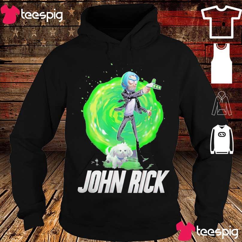 John Rick John Wick Rick and Morty s hoodie