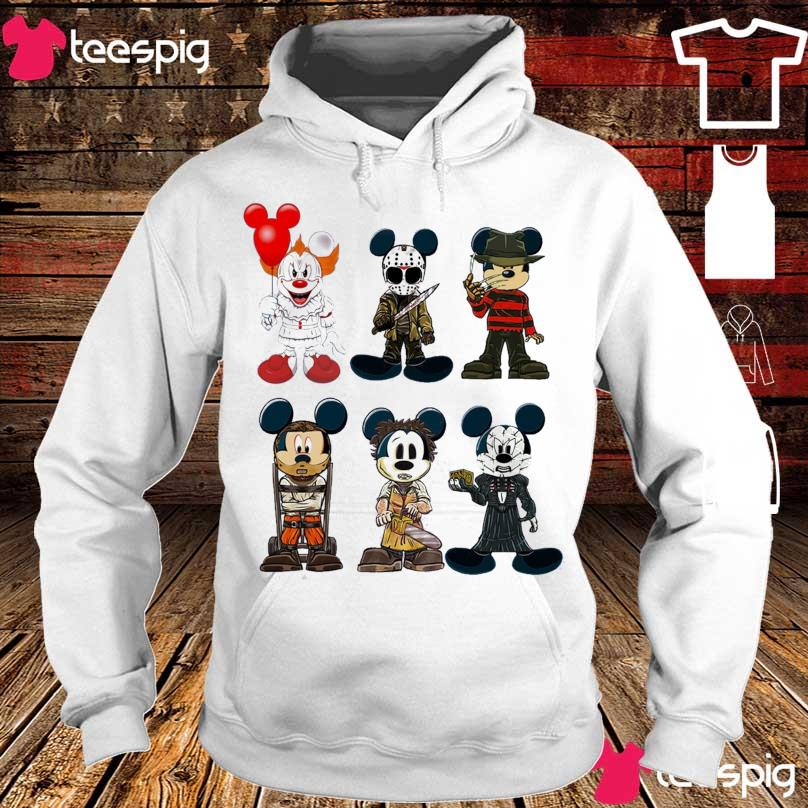 Mickey Mouse Mashup Horror Character s hoodie