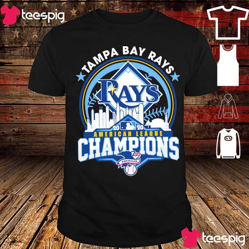 Tampa Bay Rays 2020 American League Champions American shirt