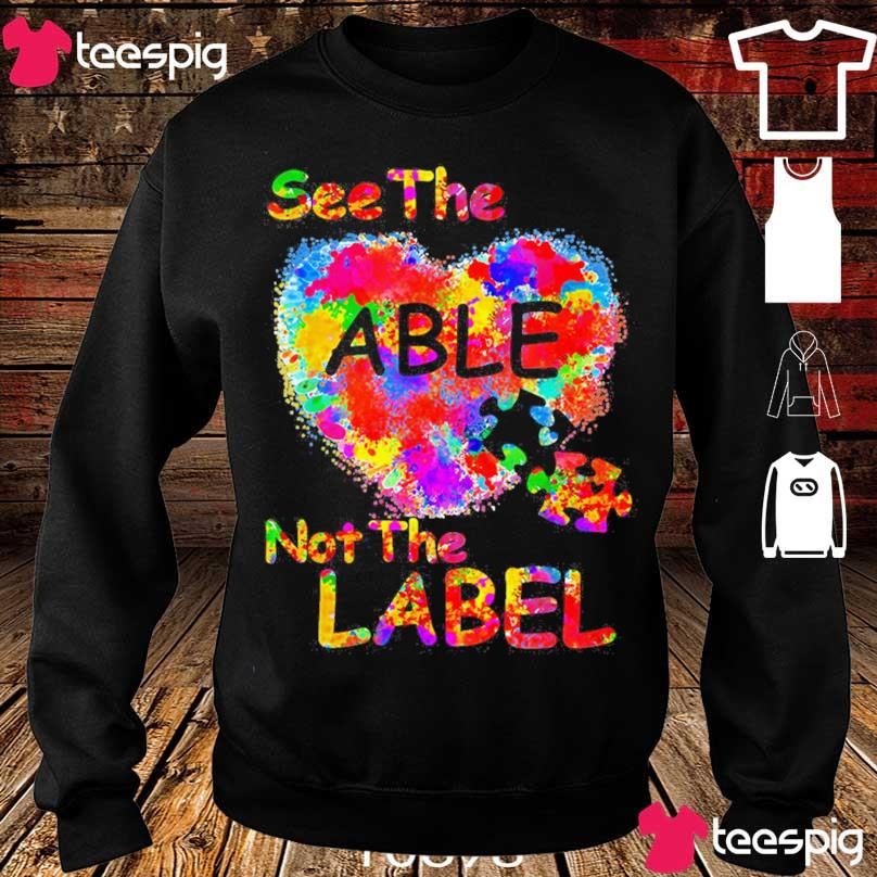 Autism See the Able not the label s sweater