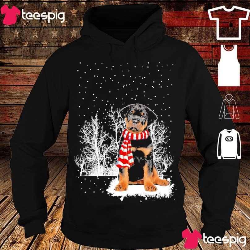 Rottweiler carf Christmas s hoodie