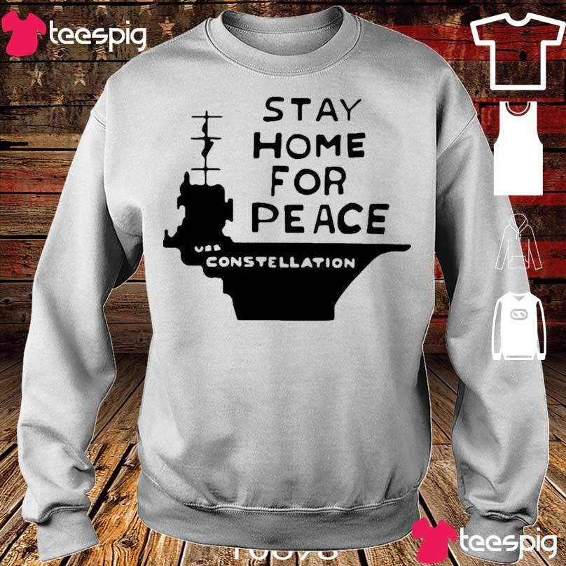 Official Stay Home For Peace Vss Constellation Shirt sweater