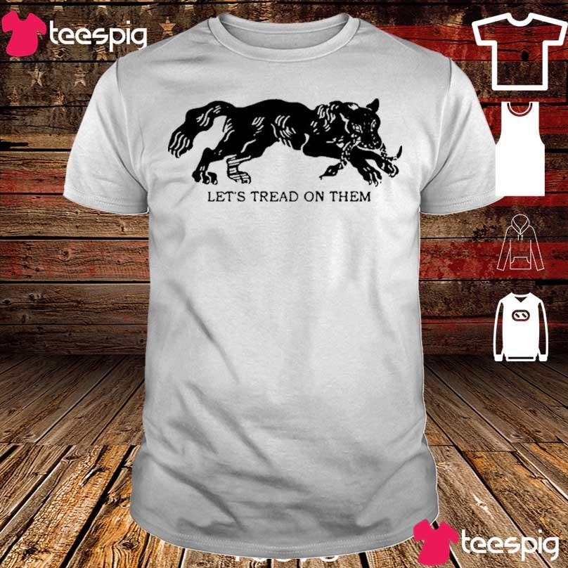 Official Tiger Let's Tread On Them Shirt