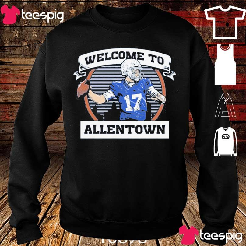 Official Welcome To Allentown Shirt sweater