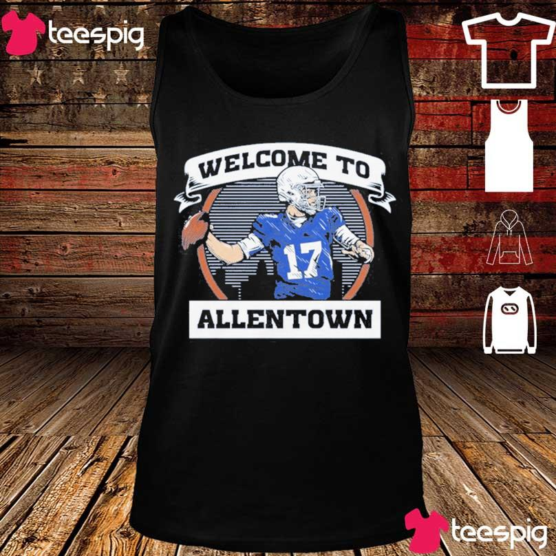 Official Welcome To Allentown Shirt tank top